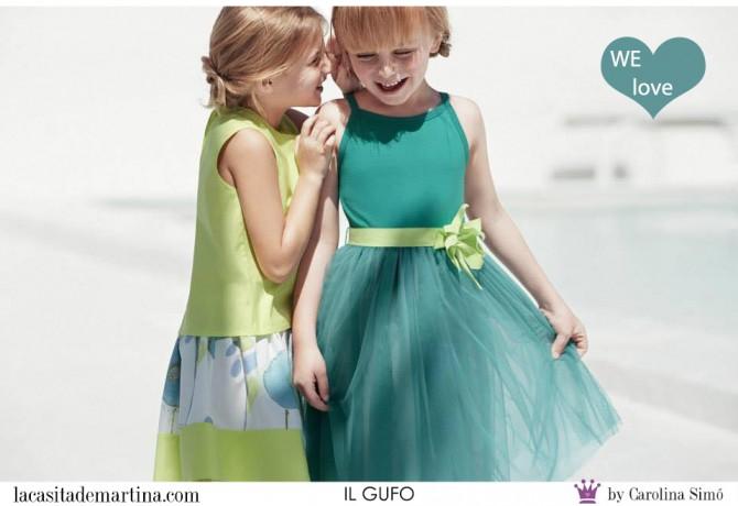 IL GUFO moda infantil, Blog Moda Infantil, Vestidos para niñas, Ropa Niños, La casita de Martina, Moda Infantil verano