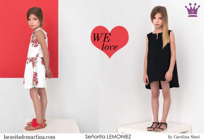 Señorita LEMONIEZ, Blog Moda Infantil, Vestidos para niñas, Ropa Niños, La casita de Martina, Moda Infantil verano