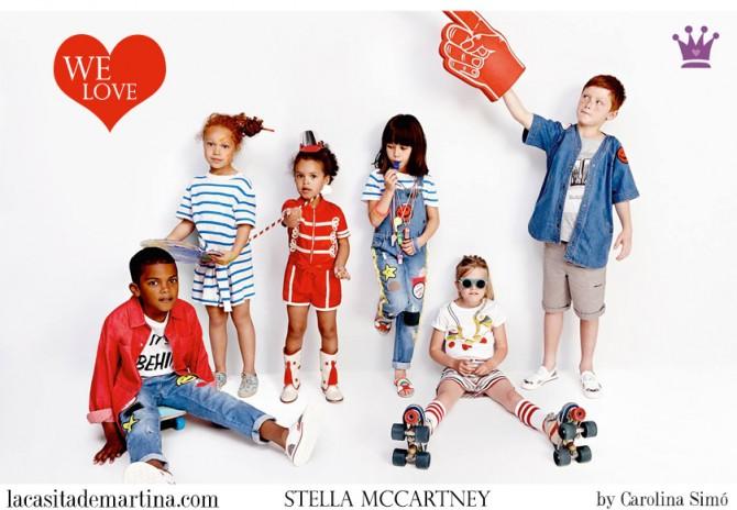 Stella McCartney, Blog Moda Infantil, Margarite moda, Vestidos para niñas, Ropa Niños, La casita de Martina, Moda Infantil verano