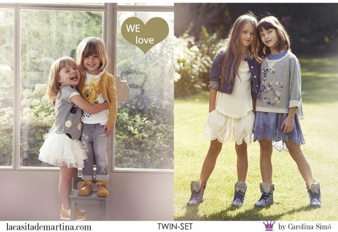 TWIN-SET moda infantil, Blog Moda Infantil, Vestidos para niñas, Ropa Niños, La casita de Martina, Moda Infantil verano