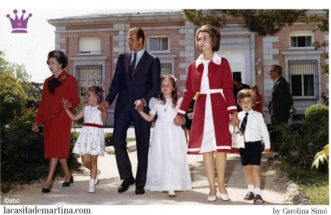 Vestido Comunión Infanta Elena, Comunión Princesa Leonor, Trajes Comunión 2015, Blog Moda Infantil, La casita de Martina, Moda Niños