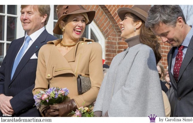 6 Pili Carrera, Marca vestidos Princesas, Catharina-Amalia, Alexia and Ariane, Princesses of Denmark