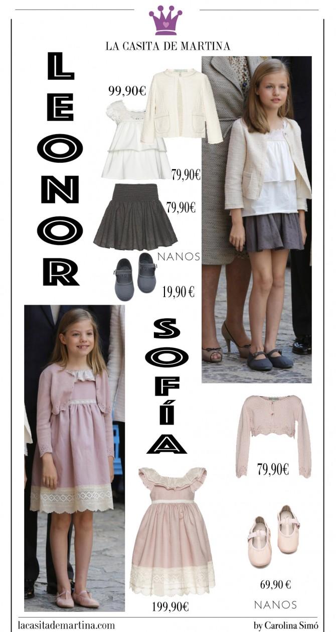 Leonor y Sofía, Nanos moda inafantil, Vestidos Leonor, Vestido Sofía, Misa de Pascua, Marca ropa Princesa Leonor, Blog Moda Infantil