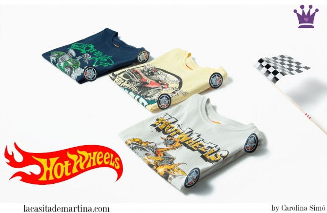 camisetas Hot Wheels niños, Zara niños, Blog de Moda Infantil, La casita de Martina, Ropa Niños