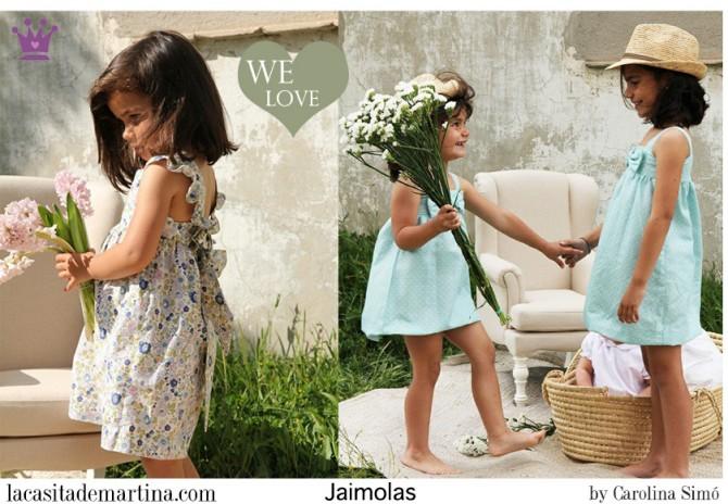 Jaimolas moda infantil, Blog Moda Infantil, Vestidos para niñas, Ropa Niños, La casita de Martina, Moda Infantil verano