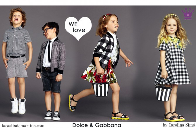 Dolce & Gabbana moda infantil, Blog Moda Infantil, Vestidos para niñas, Ropa Niños, La casita de Martina, Moda Infantil verano