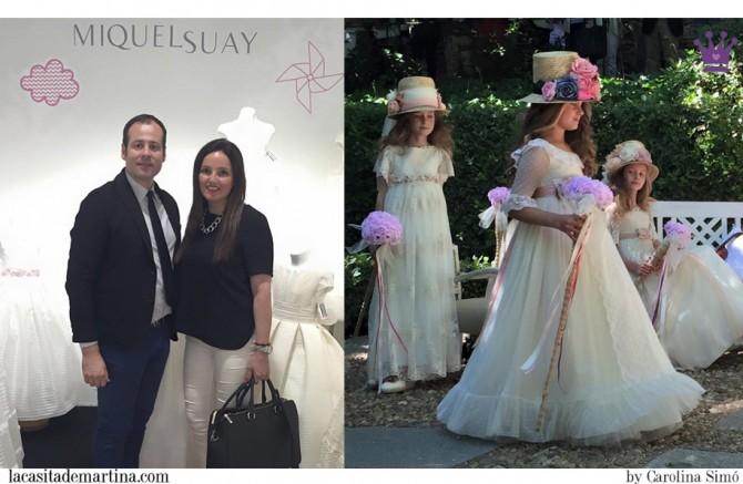 Miquel Suay, Trajes de Comunión, Vestidos Comunión, Blog de Moda Infantil, Carolina Simo, La casita de Martina