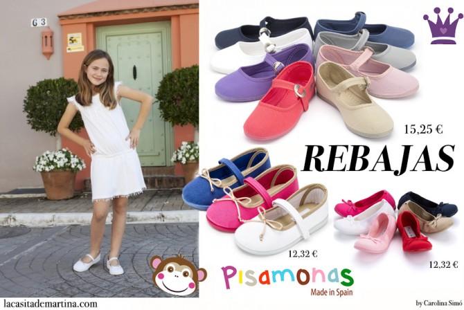 Calzado Infantil, Bailarinas para niñas, Pisamonas, Blog Moda Infantil, La casita de Martina