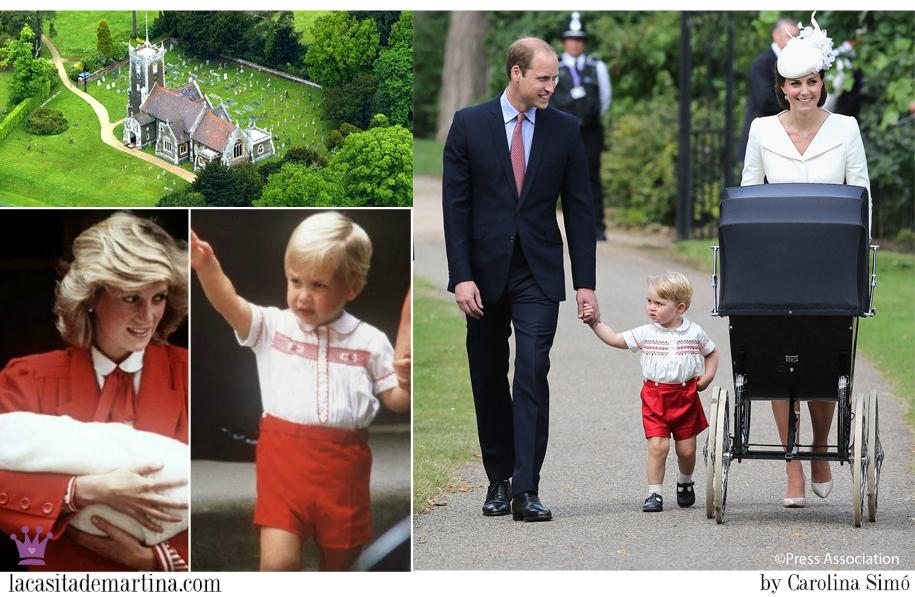 Bautizo Princesa Charlotte, Duques de Cambridge, el Príncipe Guillermo, Kate Middleton, Blog Moda Infantil