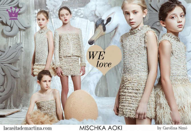 12 MISCHKA AOKI moda infantil, Blog Moda Infantil, Moda infantil infantil invierno, La casita de Martina