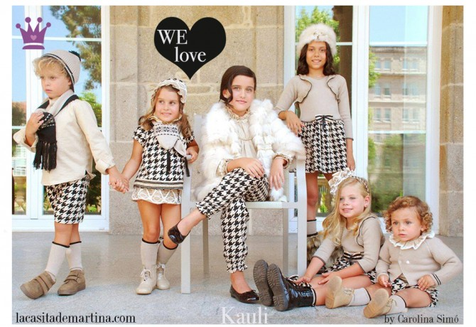 13 KAULI moda infantil, Blog Moda Infantil, Moda infantil infantil invierno, La casita de Martina