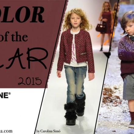 Marsala color del año, Blog de Moda Infantil, La casita de Martina, Pitti Bimbo, Il Gufo,