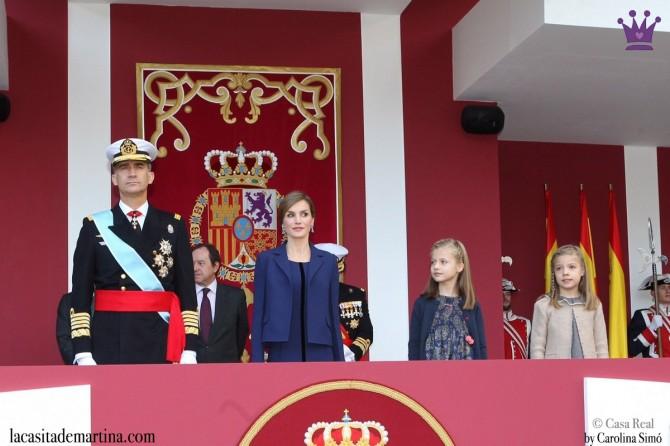 Vestidos Leonor y Sofía, Nanos princesa España, Blog de Moda Infantil, La casita de Martina, Día de la Hispanidad, 2