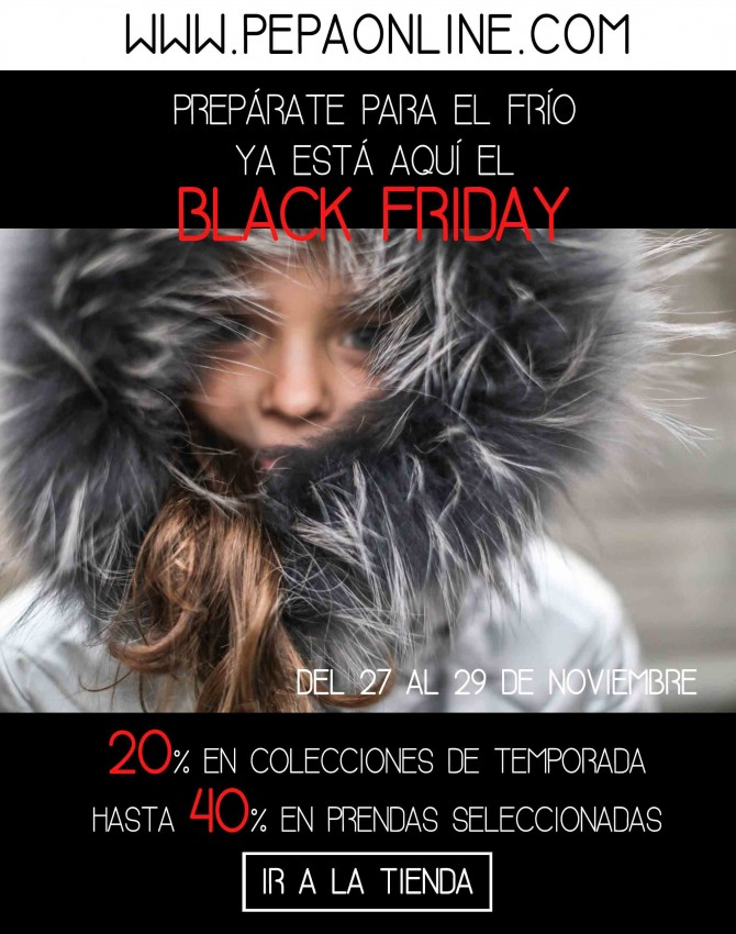 Boutique Peppa moda infantil, Blog de Moda Infantil, Black Friday, Moda Niños, La casita de Martina