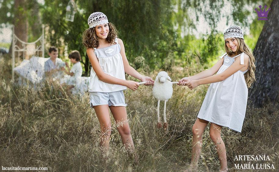 Artesania Maria Luisa, Blog Moda Infantil, Camisones Comunion, Regalos Primera Comunion
