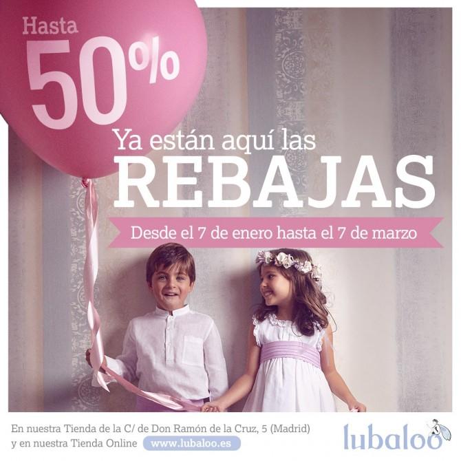 Lubaloo, Rebajas Moda Infantil, La casita de Martina, Blog de Moda Infantil, Carolina Simo