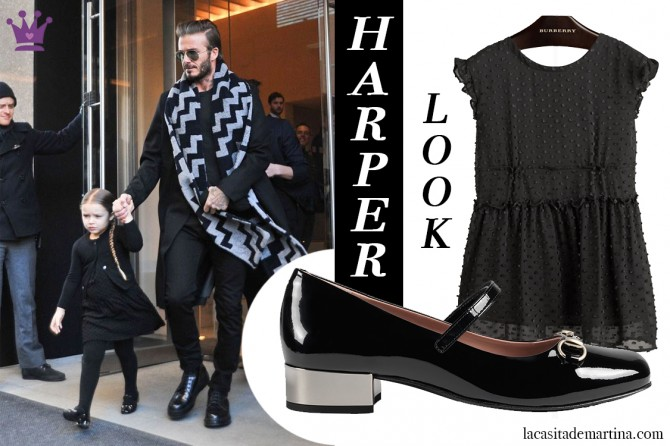 Harper Beckham, Blog de Moda Infantil, La casita de Martina, Semana de la Moda de Nueva York, Victoria Beckham6