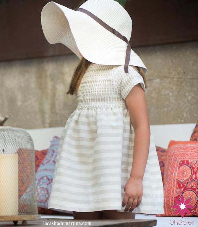 Blog de Moda Infantil, Print geométrico, Vestidos para niñas, Oh Soleil, La casita de Martina