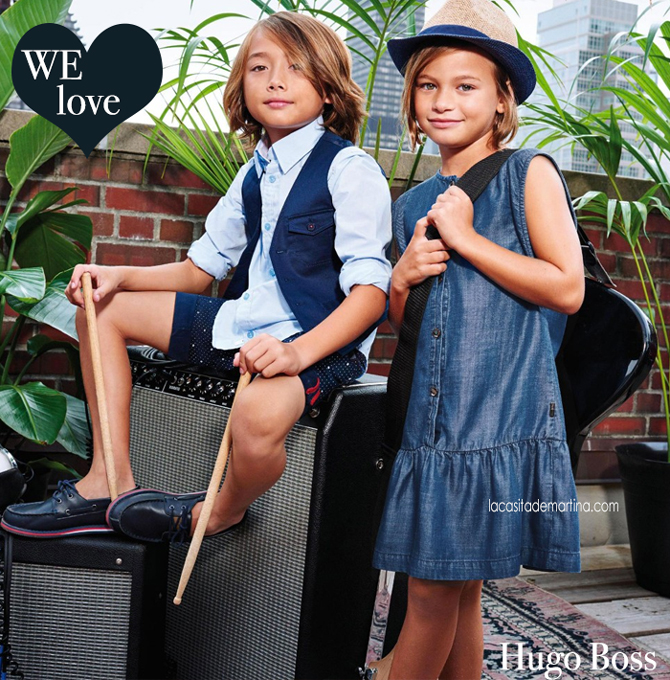 Blog de Moda Infantil, Hugo Boss, La casita de Martina, Kids Fashion Blog