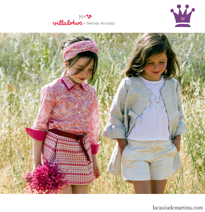 Blog de Moda Infantil, Print geométrico, Vestidos para niñas, Villalobos, Nieves Álvarez, La casita de Martina