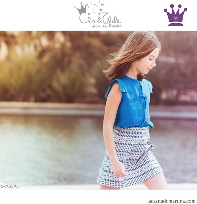 Blog de Moda Infantil, Print geométrico, Vestidos para niñas, Clo&Tilde, La casita de Martina