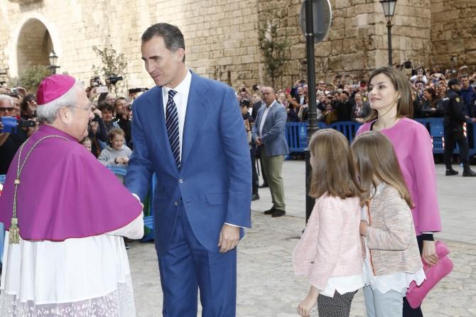 ropa Princesa Leonor, Infanta Sofia, reina Leticia, Misa de Pascua, Blog de Moda Infantil, 4
