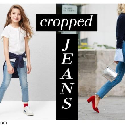 Blog de Moda Infantil, Tendencias Moda Niños, Cropped Jeans, La casita de Martina, Carolina Simo