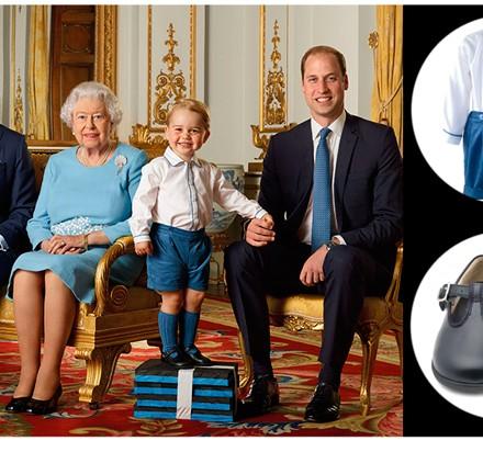 Príncipe George de Inglaterra, Blog de Moda Infantil, La casita de Martina, Reina Isabel de Inglaterra