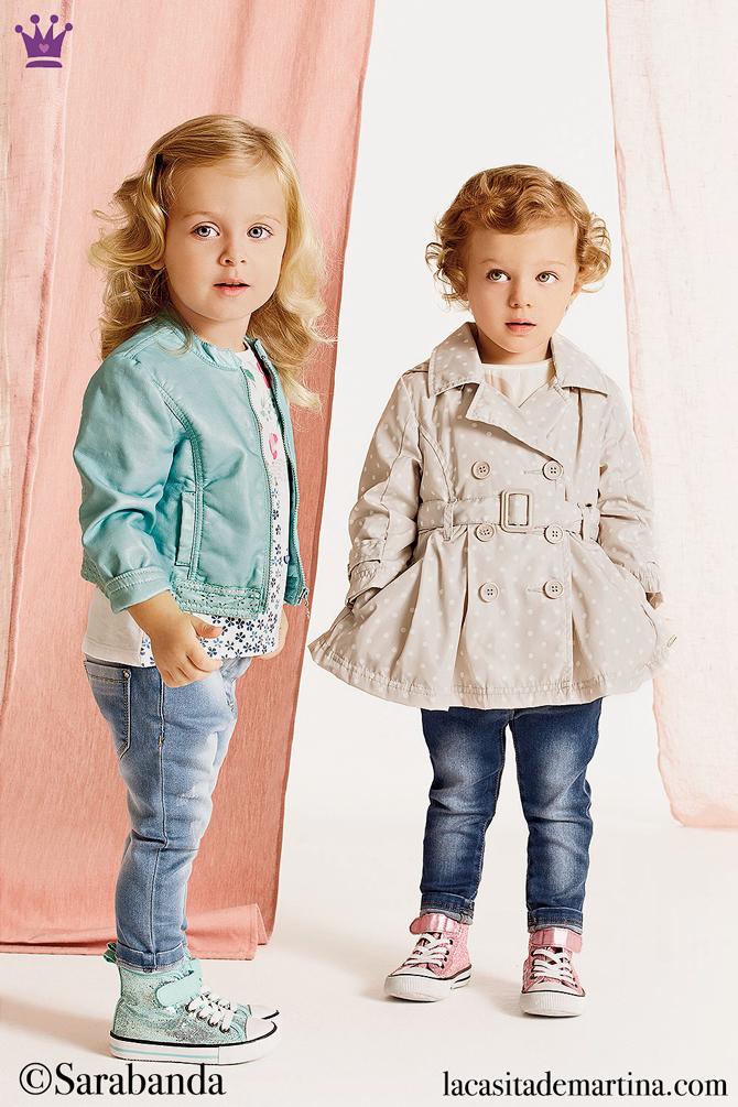 Tendencias moda infantil, Gabardina Burberry, Trench Sarabanda, La casita de Martina, Blog Moda Infantil
