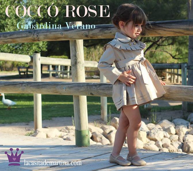 Tendencias moda infantil, Gabardina Burberry, Trench Cocco Rose, La casita de Martina, Blog Moda Infantil
