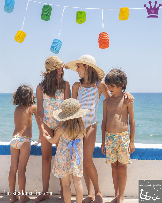 Bañadores para niños, Blog Moda Infantil, La casita de Martina, Kids Fashion Blog, Al agua patos