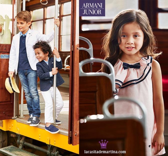 Moda Infantil, Rebajas, Blog Moda Infantil, Kids Wear, La casita de Martina, Armani Junior