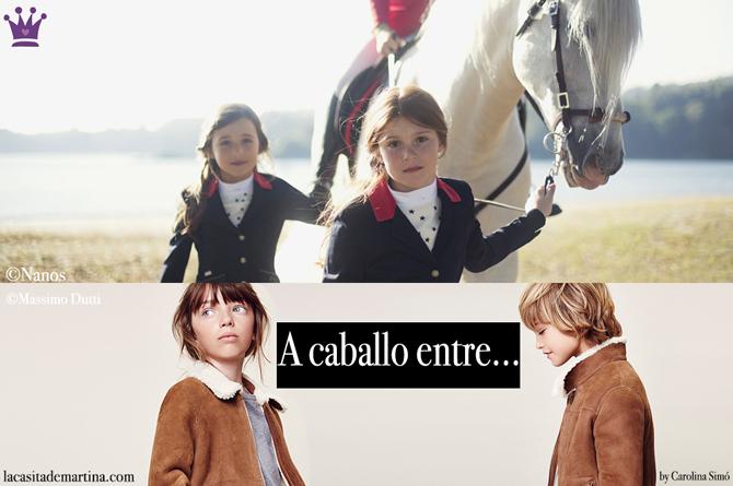 Massimo Dutti, Nanos, Moda Infantil, Ropa Hipica, Carolina Simo