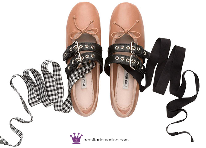 Bailarinas Miu Miu, Moda Infantil, Kids Wear, Blog de Moda Infantil, La casita de Martina