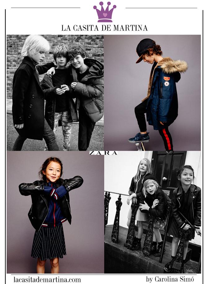 Vuelta al Cole, Moda Infantil, Ropa niños colegio, La casita de Martina, Zara, Kids Wear