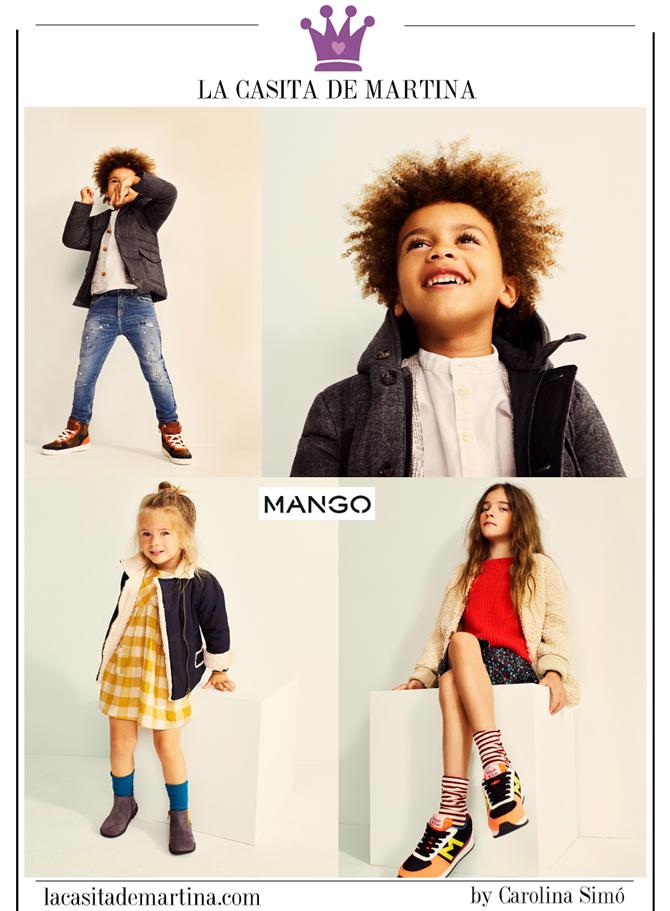 Vuelta al Cole, Moda Infantil, Ropa niños colegio, La casita de Martina, Mango, Kids Wear