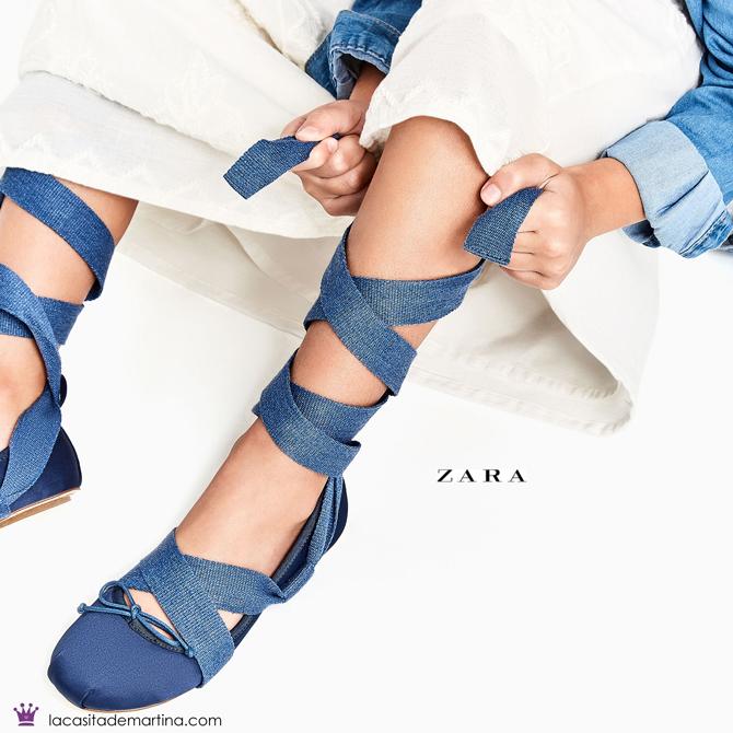 Bailarinas Miu Miu, Moda Infantil, Kids Wear, Blog de Moda Infantil, La casita de Martina, Zara