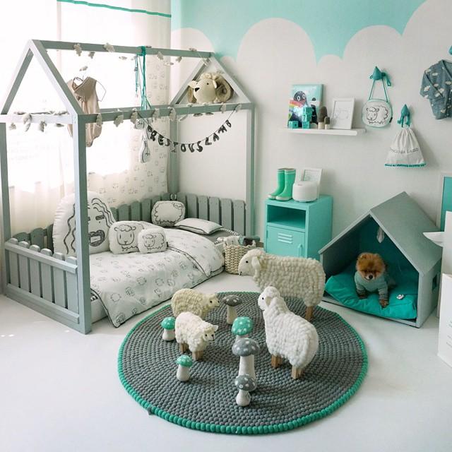 Habitaciones infantiles, Puericultura, decoracion infantil, camas para ninos, blog de moda infantil, 4