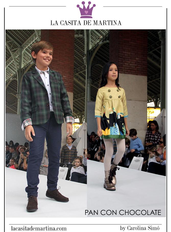 Petit Style Walking, Blog de Moda Infantil, Desfile Moda Infantil, La casita de Martina, Kids Wear, Pan con Chocolate