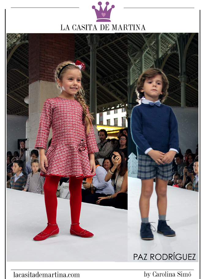 Petit Style Walking, Blog de Moda Infantil, Desfile Moda Infantil, La casita de Martina, Kids Wear, Paz Rodriguez