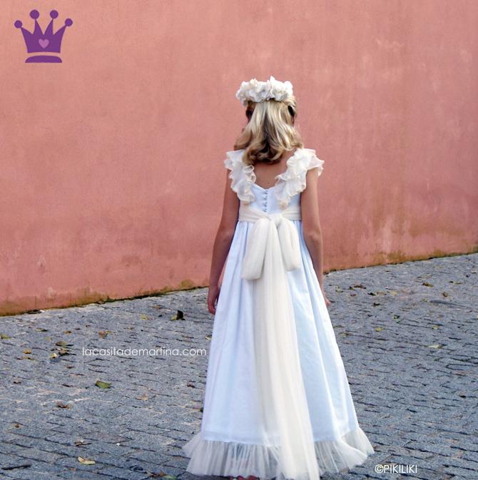 Vestidos de Comunion, Trajes de Comunion, Blog Comuniones, Blog vestidos comunion, La casita de Martina, Moda Infantil