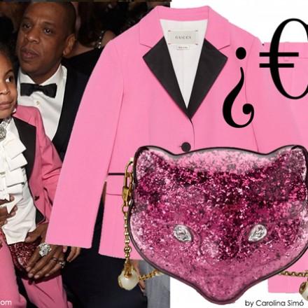 Beyonce premios Grammy, bolso Blue Ivy Gucci, Blog de Moda Infantil, La casita de Martina