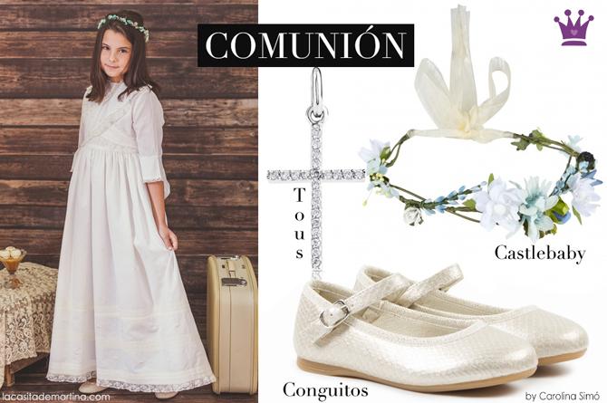 Vestidos de Comunion 2017, Trajes de Comunion 2017, Blog Comuniones, Blog Moda Infantil, La casita de Martina, Zapatos Comunion