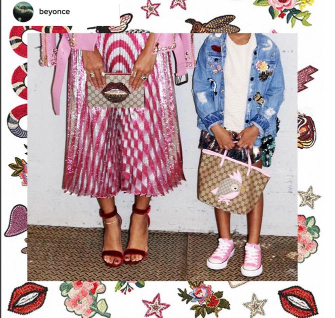Gucci, Beyonce premios Grammy, bolso Blue Ivy Gucci, Blog de Moda Infantil, La casita de Martina, 4