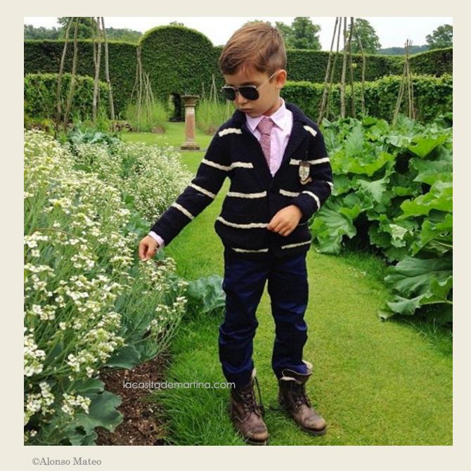 Como hacer el nudo de la corbata, corbatas para ninos, blog de Moda Infantil, Mateo Alonso