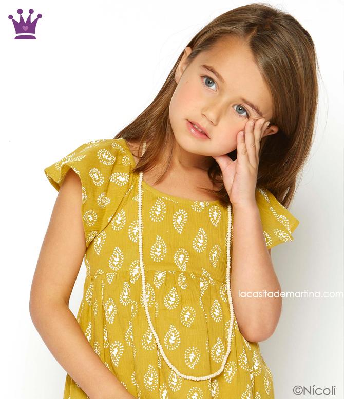 Blog de Moda Infantil, Colecciones moda infantil primavera verano, La casita de Martina, Kids Wear, Nicoli
