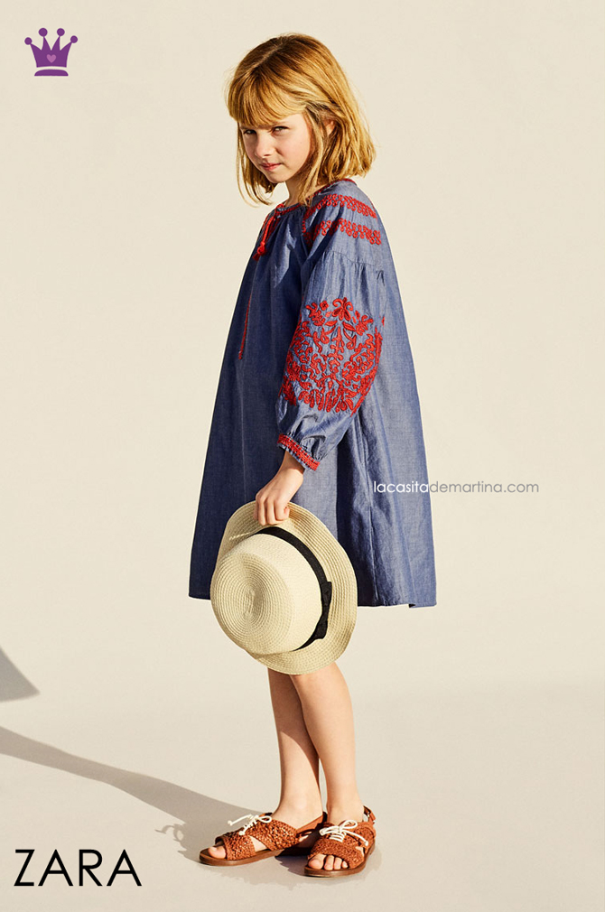 Blog de Moda Infantil, Colecciones moda infantil primavera verano, La casita de Martina, Kids Wear, Zara kids