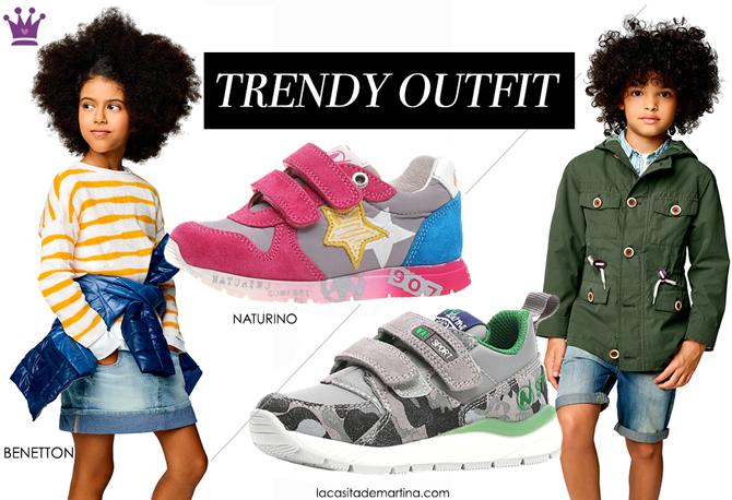 Moda Infantil, Benetton, Naturino shoes, Calzado Infantil, Tendencias primavera verano 2017