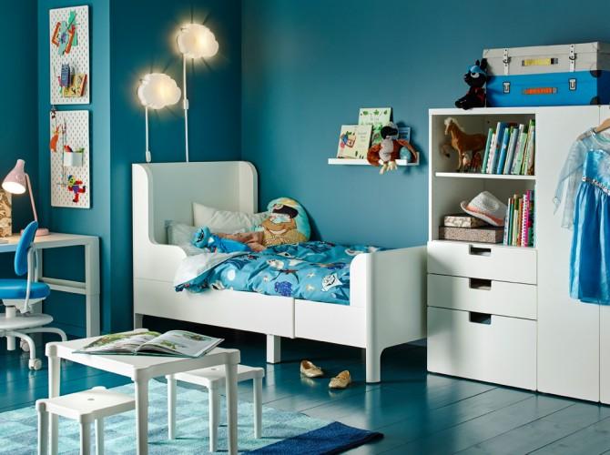 habitaciones infantiles IKEA, cama IKEA, habitacion bebe IKEA, Decoracion Infantil, Blog de Moda Infantil, 3