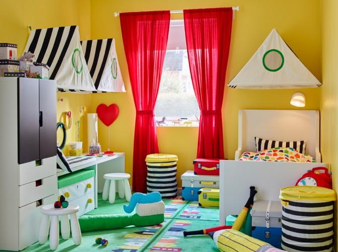 habitaciones infantiles IKEA, cama IKEA, habitacion bebe IKEA, Decoracion Infantil, Blog de Moda Infantil, 6